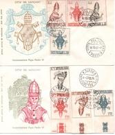 Vaticano Fdc Filagrano 1963 - Maximumkarten (MC)