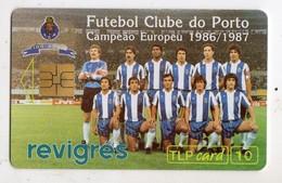 PORTUGAL TELECARTE SPORT FOOTBALL CLUB DE PORTO Date 1993 15000ex MINT - Sport
