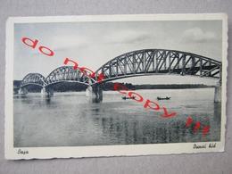 Hungary / Baja - Dunai Hid ( Bridge, Boats ) - Hungary