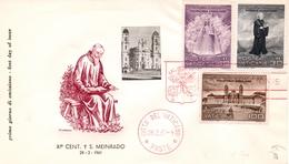 Vaticano Fdc 1961 - Maximumkarten (MC)