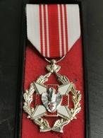 Belgique Médaille, Croix Rouge Attribut Pour Dons De Sang - Other