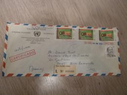 1 ENVELOPPE AFFRANCHIE DU CHILI 1984 - Chili