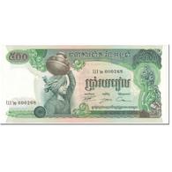 Billet, Cambodge, 500 Riels, 1973-1975, Undated (1973-1975), KM:16a, NEUF - Cambodia