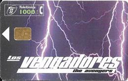 CARTE-PUCE-ESP-1000Pst-09/1998-FILM-AVENGERS-Utilisé-TBE - Kino