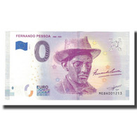 Portugal, Billet Touristique - 0 Euro, Portugal - Littérature - Fernando Pessoa - Jetons & Médailles