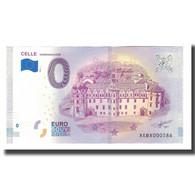 Allemagne, Billet Touristique - 0 Euro, Germany - Celle - Château De Celle - - Allemagne