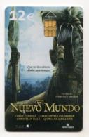 ESPAGNE TELECARTE CINEMA LE NOUVEAU MONDE Date 2008 - Kino