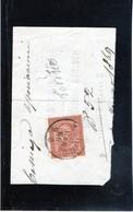 CG40 - 1865  Italia - Cifra -   Frammento Con Annullo Di Torino 1/4/1869 - Usati