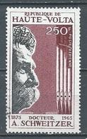 Haute-Volta Poste Aérienne YT N°40 Docteur Albert Schweitzer Oblitéré ° - Haute-Volta (1958-1984)