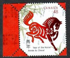 Sc. # 1933 Lunar New Year, Year Of The Horse Single Used 2002 K691 - 1952-.... Règne D'Elizabeth II