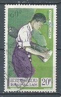 Laos Poste Aérienne YT N°26 Joueur De Kong Oblitéré ° - Laos