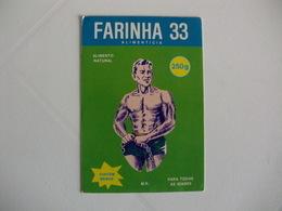 Flour Farine Farinha 33 Portugal Portuguese Pocket Calendar 1987 - Calendars