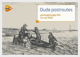 Netherlands 2020 - Europa 2020 - Old Postal Routes Special Folder - Unused Stamps