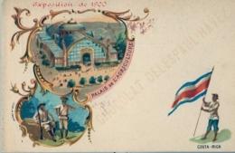 1900 COSTA RICA , EXPOSICIÓN UNIVERSAL , T.P. SIN CIRCULAR - CHOCOLAT DEL ESPAUL - HAVEZ , PUBLICIDAD , CHOCOLATE - Costa Rica