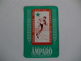 Flour Farine Farinha Amparo Portugal Portuguese Pocket Calendar 1986 - Calendars