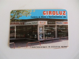 Giroluz Almada Portugal Portuguese Pocket Calendar 1989 - Calendars