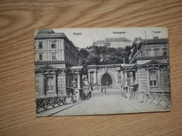 Budapest Alagut Tunnel Katonai Ellenorzo Bizotsagt Versecz 1915 WW1 Vrsac Censor - Hungary