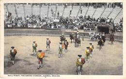 MEXICO Mexique - JUAREZ : Bull Fight ( Corrida / Peleas De Toro ) The Grand Parade - CPA - AMERIQUE SUD Sudamerica - México