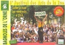 """Carte Postale édition """"Carte à Pub"""" - Bagnoles De L'Orne - 8e Festival Des Arts De La Rue 2005 - Advertising"""