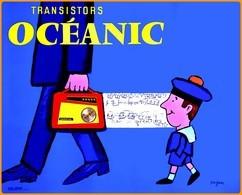 Carte Postale : Transistors Océanic (affiche) Illustration : Savignac - Savignac