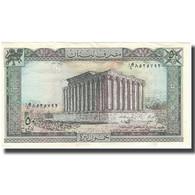 Billet, Lebanon, 50 Livres, KM:65d, TTB+ - Libano