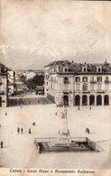 Cuneo - Corso Nizza E Monumento Barbaroux - Cuneo