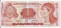 HONDURAS 1 LEMPIRA 2000 AUNC P 84 A - Honduras