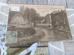 Jolie Carte De Grans 1904 Verso Cachet Mairie - Autres Communes