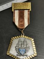 Luxembourg Médaille, 1e Marche Esperants 1975. Wasserbillig - Jetons & Médailles