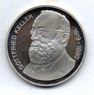 SWITZERLAND, 5 Francs, Copper-Nickel, Year 1990, KM #69, PROOF - Schweiz