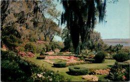 North Carolina Wilmington Orton Plantation Sunken Gardens - Wilmington