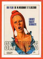 Carte Postale : Sexologos (film - Cinéma - Affiche) Illustration : Aslan (Marianne) - Aslan