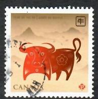 Sc. # 2296 Lunar New Year, Year Of The Ox Single Used 2009 K707 - 1952-.... Règne D'Elizabeth II
