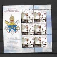 2012 MNH Vaticano - Blocks & Kleinbögen