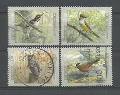 Canada 1998 Birds Y.T. 1556/1559 (0) - 1952-.... Regering Van Elizabeth II