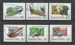 Hungary 1977 Pheasants  Y.T. 2550/2555 (0) - Hongrie