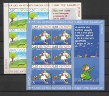 2010 MNH Vaticano Mi 1669-70 - Blocks & Kleinbögen