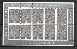 2010 MNH Vaticano Mi 1665 - Blocks & Kleinbögen