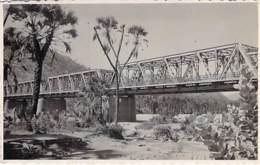 ** Carte Photo / Real Photo 1952 ** ERYTHREE Eritrea - Ponte Sul Barca Della Strada Asman Agordat - Format CPA - Eritrea