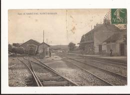 Haute Loire Gare De Saint Pal Saint Romain (pli) - France