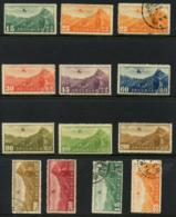 CHINA - 27 Airmail Stamps. Most Unused With Hinge. Including The Catalogue' ' Airmail Stamps Of China'  By R.Gray. - China