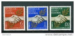 Guinea Ecuatorial 1968. Edifil 1-3 ** MNH. - Equatorial Guinea