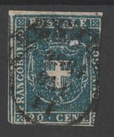 TOSCANA GOVERNO PROVVISORIO 1860 - 20c Usato - Toscane