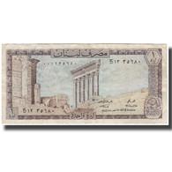 Billet, Lebanon, 1 Livre, KM:61a, TB+ - Libano