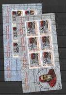 2005 MNH Vaticano Mi 1358-59 - Blocks & Kleinbögen