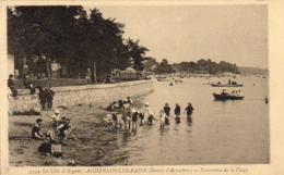 D33  ANDERNOS- LES- BAINS  Panorama De La Plage   .... - Andernos-les-Bains