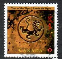 Sc. # 2348 Lunar New Year, Year Of The Tiger Single Used 2010 K708 - 1952-.... Règne D'Elizabeth II