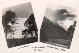 D05  VILAR DARÈNE  Les Trois Évêchés Et Massif De La Meije  Carte Deux Vues - France