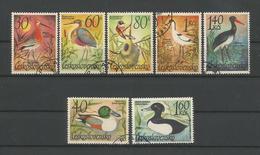 Ceskoslovensko 1967 Birds  Y.T. 1543/1549 (0) - Tsjechoslowakije