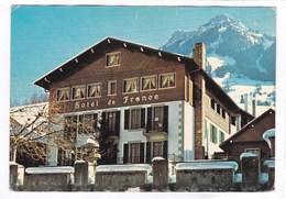 CPSM.  15 X 10,5  -   ENTREMONT (Haute-Savoie) - Hôtel De France - Other Municipalities
